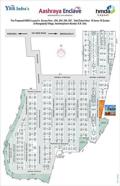 YBR Infra Aashraya Enclave - Master Plans