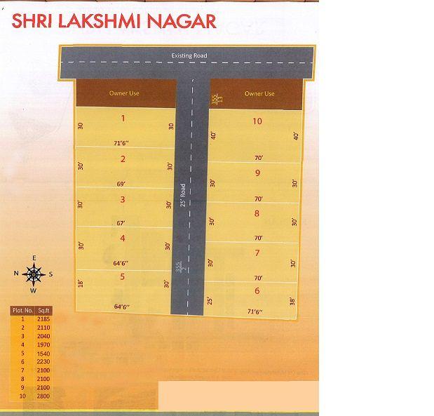 Shri Lakshmi Nagar - Master Plan