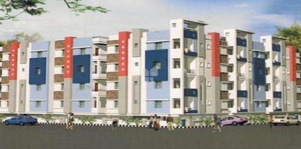 Anuthi STR Residency - Elevation Photo