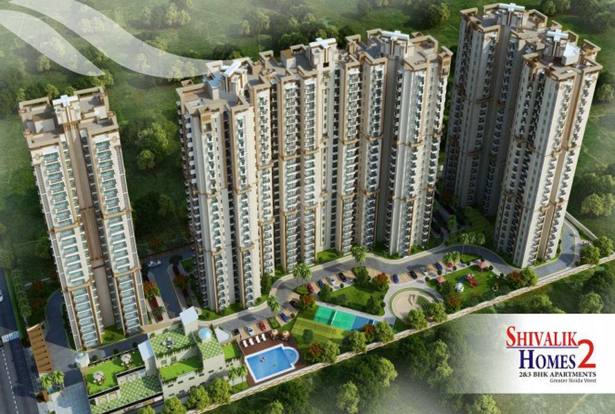 Cosmos Shivalik Homes 2 - Elevation Photo