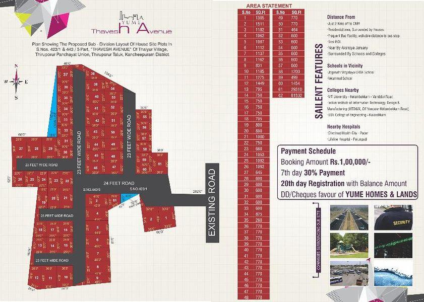 Thavesh Avenue - Master Plans