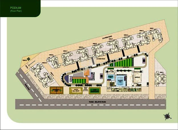 Akshar Green World In Airoli Navi Mumbai Roofandfloor