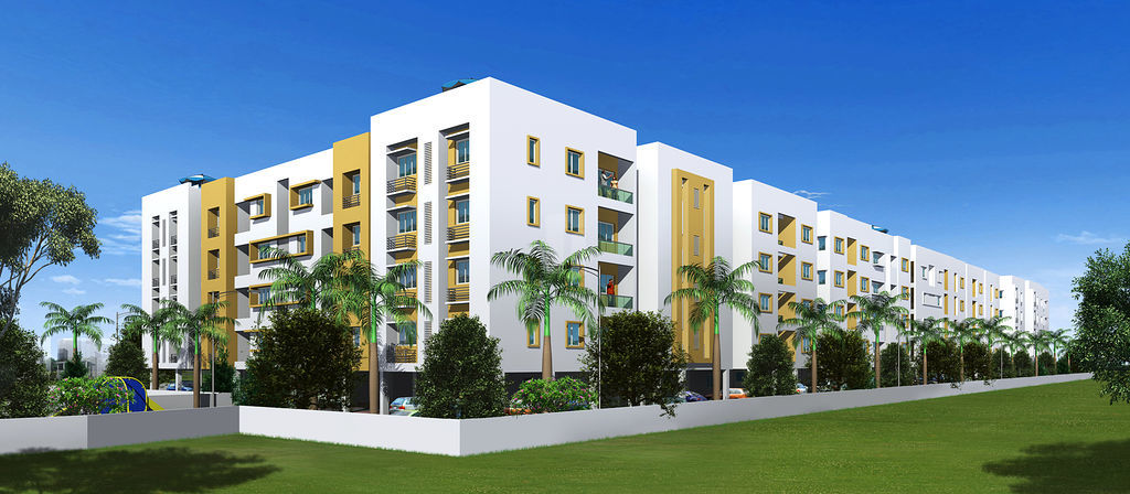 Rajkham Silver Crest - Elevation Photo