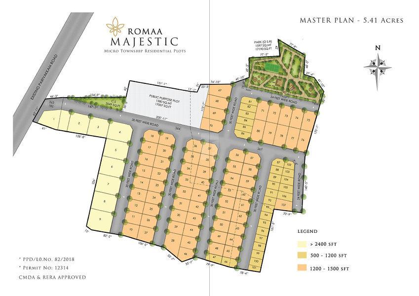 Romaa Majestic - Master Plans