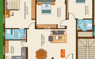 adhitya-sri-icr-enclave-in-saibaba-colony-floor-plan-2d-nal