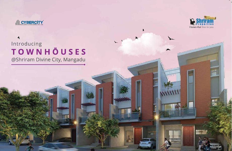 Shriram Divine City Townhouses - Elevation Photo