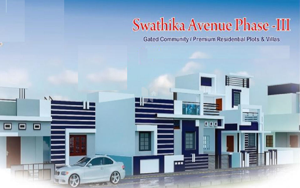 Greens Swathika Avenue Phase III - Elevation Photo