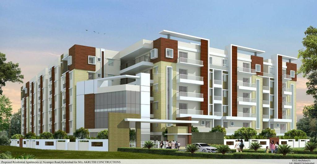 Akruthi Venkatadri Towers - Elevation Photo