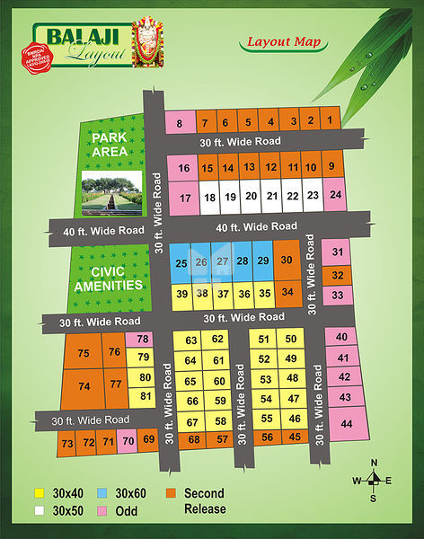 Bhumi Balaji Layout - Master Plans