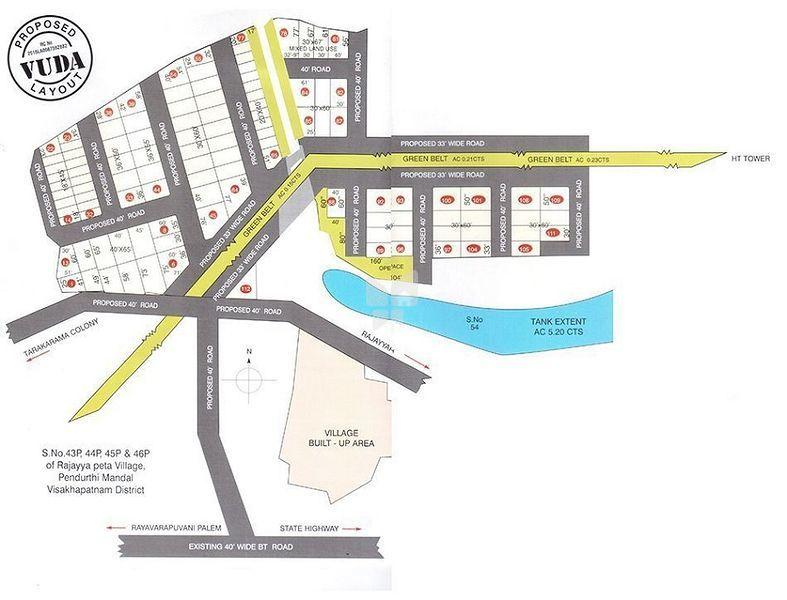Sai SVL Puram Phase 1 - Master Plans