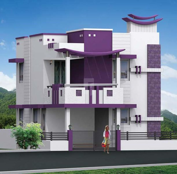 N Home Plan And Elevation : Dhanaas mathura in pattanam coimbatore roofandfloor