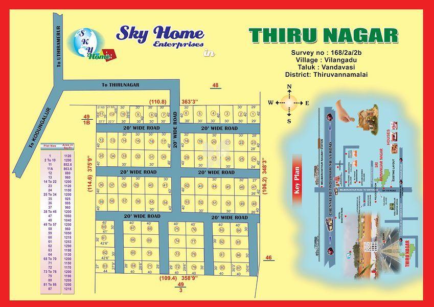 Sky Thiru Nagar - Master Plan