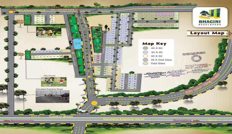 Bhagini Udaya Ravi Enclave - Master Plans