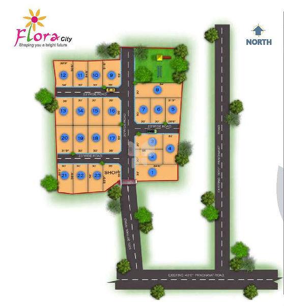 Square Space Flora City - Master Plan