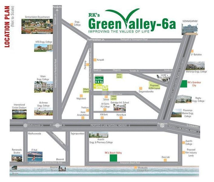 RK's Green Valley-6a - Master Plan