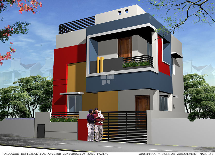 Kaviyan Villa Project III - Elevation Photo