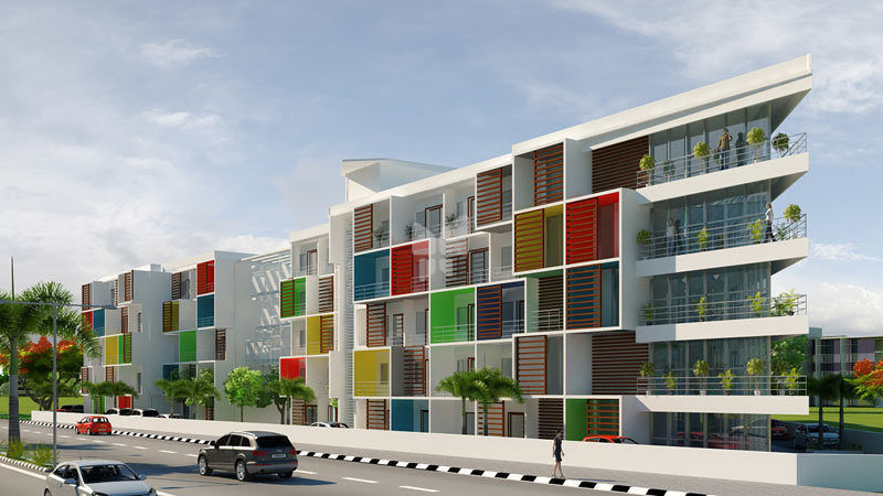Urban Housing Z Cubes - Project Images