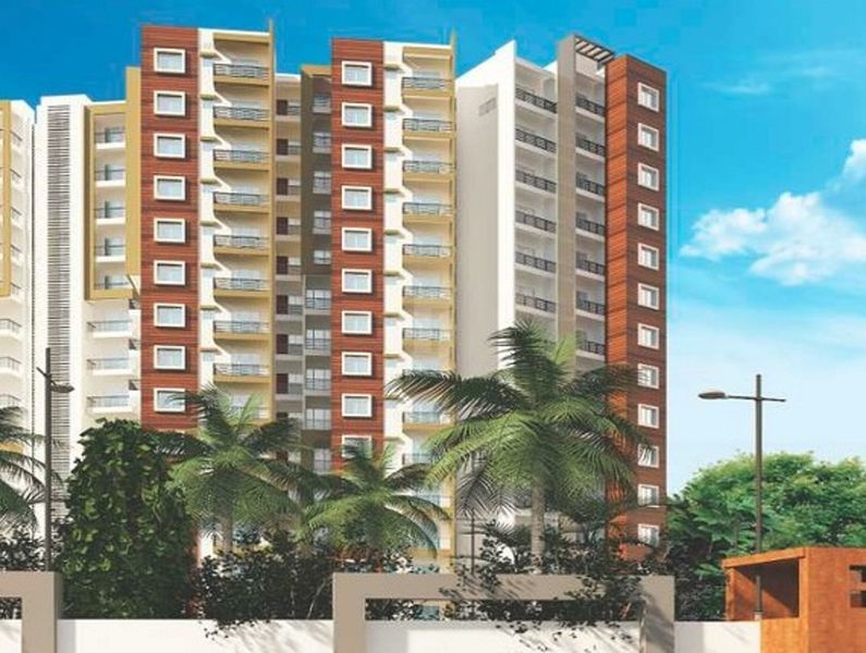 Vrushabadri Towers - Elevation Photo