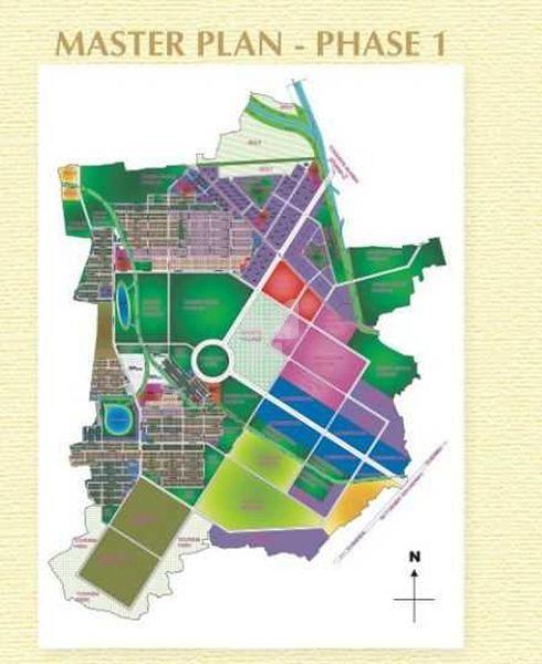 Arrow City Manhattan Plots - Master Plan