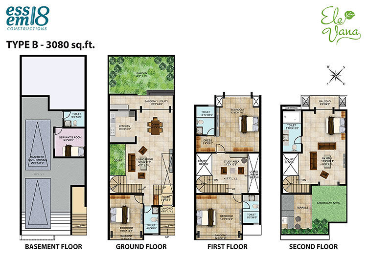 Ele Vana In Kasavanahalli Bangalore Price Floor Plans