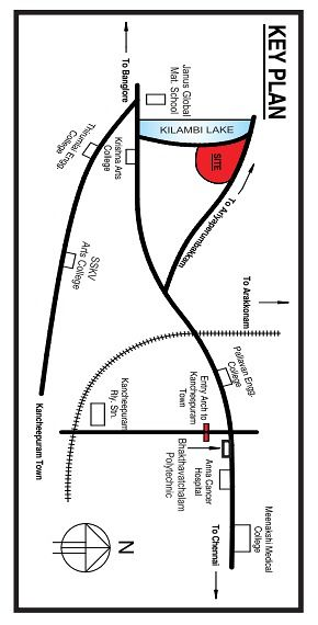 Shreesha Gardens - Location Maps