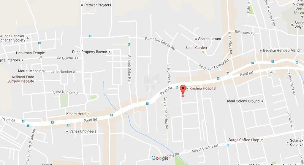 Aditya Guruganesh Nagar Phase I - Location Maps