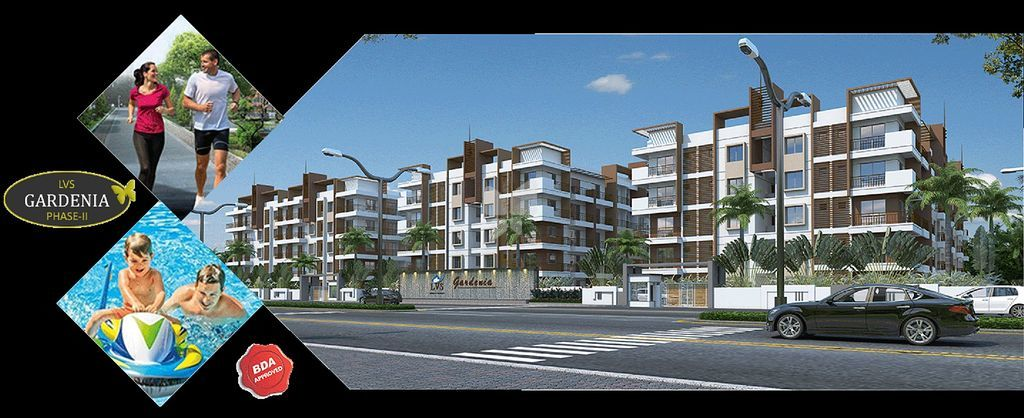 LVS Gardenia Phase - II - Elevation Photo