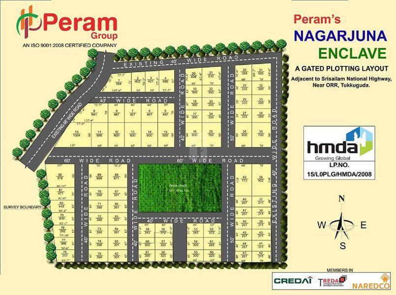 Peram's Aditya Royal - Master Plans