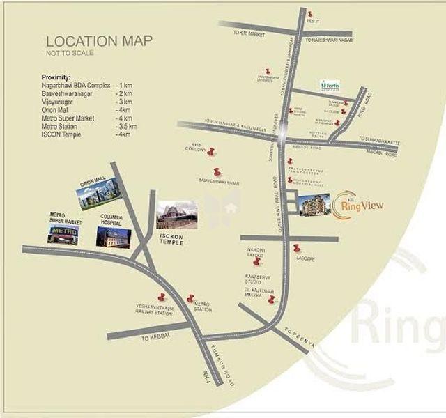 Smithsonian World Map Rug: KL Ring View In Nagarbhavi, Bangalore