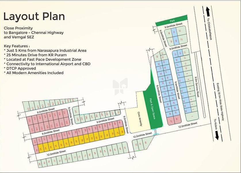 MCB Amaravati - Master Plan