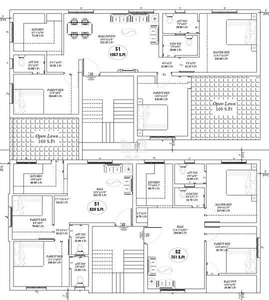 Salim's Dell Arcade - Floor plan