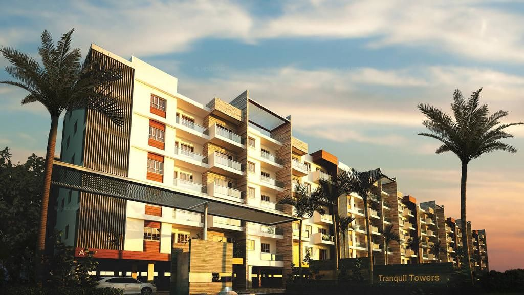 Dhruthi Tranquil Towers - Elevation Photo