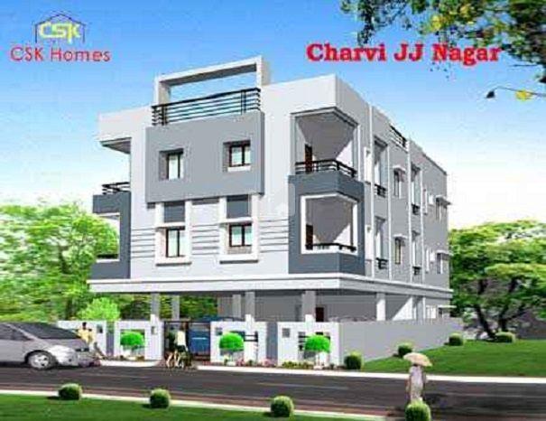 CSK Charvi JJJ Nagar - Elevation Photo