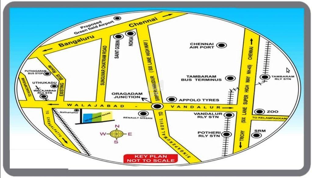 Apex Sri Rathinam Nagar - Location Maps