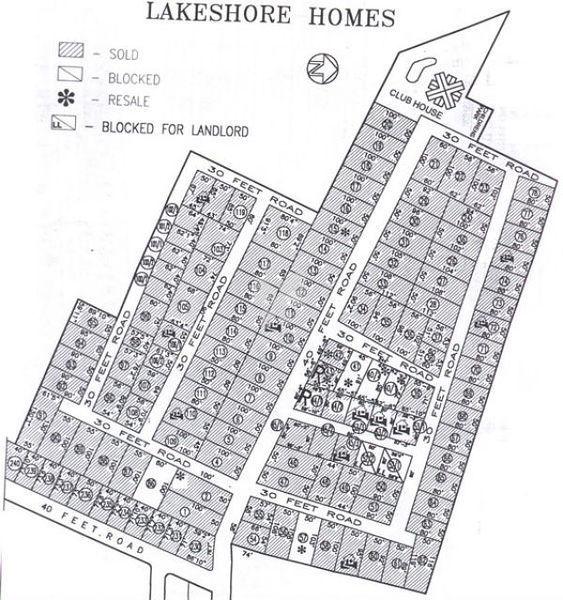 Lake Shore Homes - Master Plan
