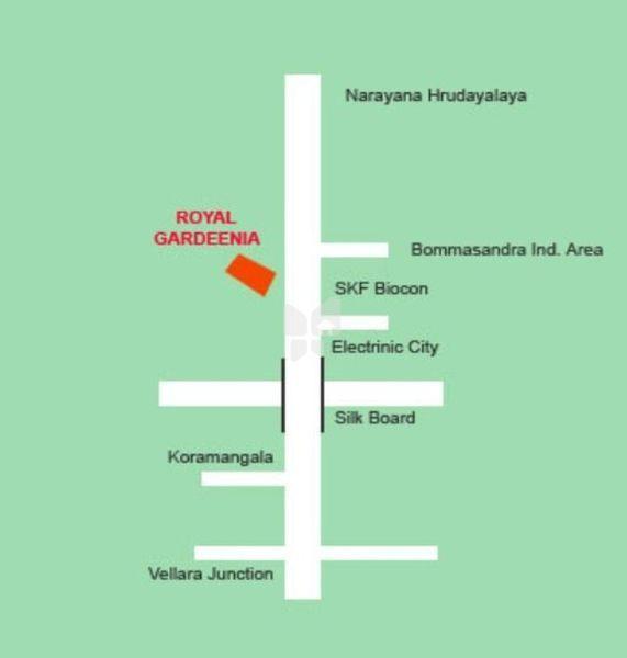 Royal Gardeenia - Location Map