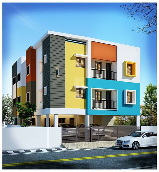 VGK SUMANGAL HOMES - Elevation Photo