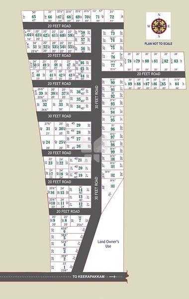 ATS Bharathi Nagar - Master Plan