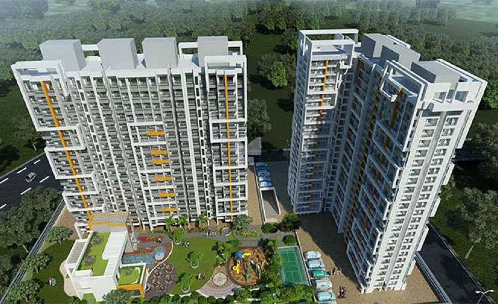 Sanghvi Eco City Phase 2 - Elevation Photo