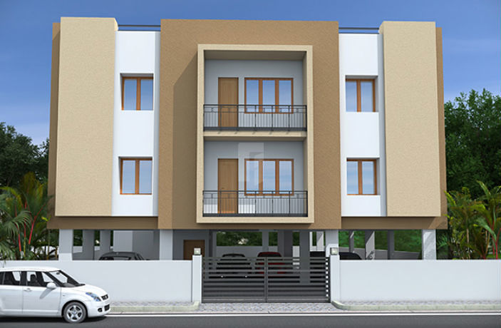 Kgeyes Sowrashtra Nagar - Elevation Photo