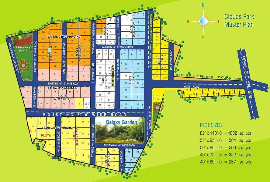 Fortune Clouds Park - Master Plans