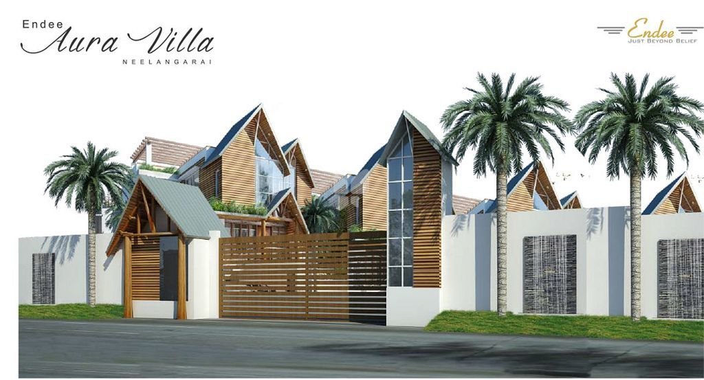 Endee Aura Villa - Elevation Photo