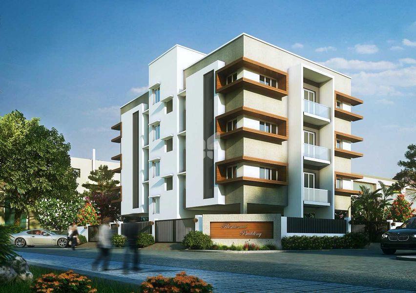 Nahar Jothi Apartment - Elevation Photo