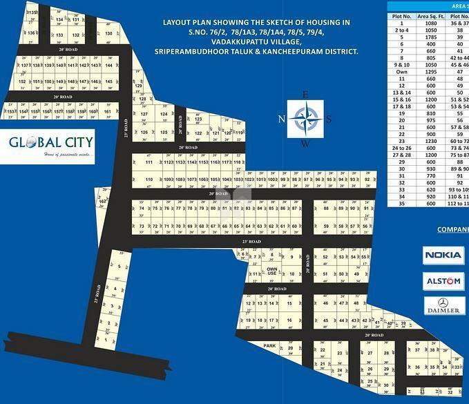 Sri Enterprises Global City - Elevation Photo