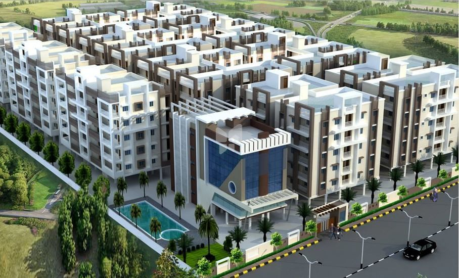 Sri Aditya Heights - Elevation Photo