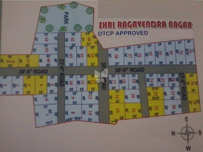 Shri Ragavendra Nagar - Master Plan