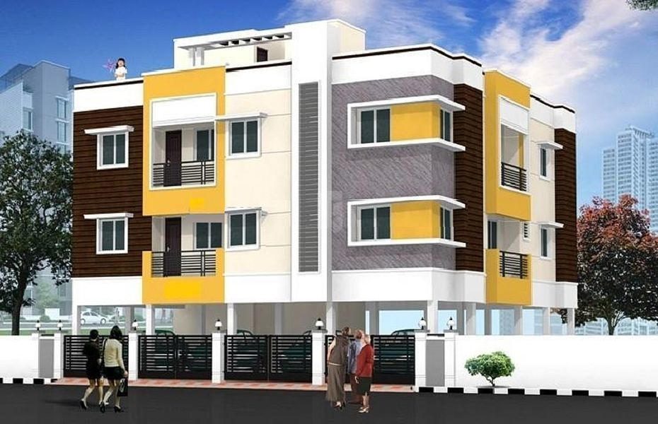 Tirupatiyar Kannaki Nagar Flats - Project Images