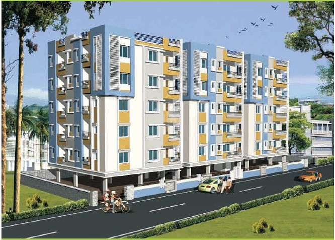 Rohini PRK Dolphin Towers - Elevation Photo
