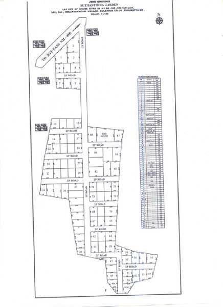 Suthanthira Garden Plot - Master Plans