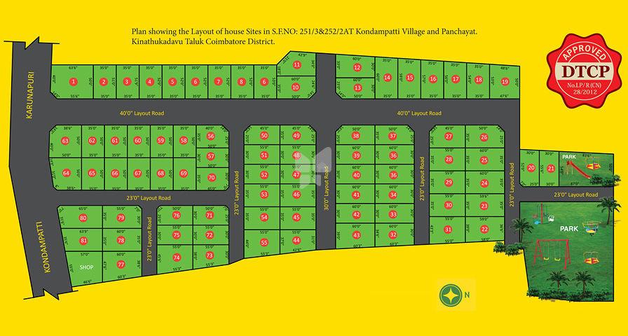 Thalir Enclave - Master Plan